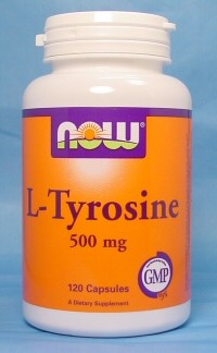 5b.  L-Tyrosine (NOW Foods)